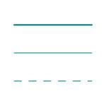 Linienarten nach ISO 128-24